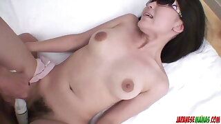 Chizuru loads her furry cunt wit - More at Japanesemamas.com