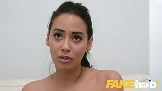 Fake Agent, hot sofa sex with cute Colombian with a juicy ass