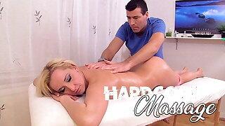 Hardcore Massage - Small Blonde With Big Ass Gets Sex Massage