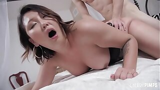 Big Tits Asian Jade Luv Can't Get Enough Of A Thick Cock Banging From Zachary