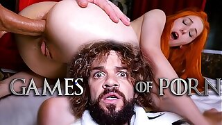 Meet Elin Flame as Lady Sansa assfucked by her mad midget husband Tyrion Fuckister in #GameOfPorn hardcore sex parody from Jean-Marie Corda