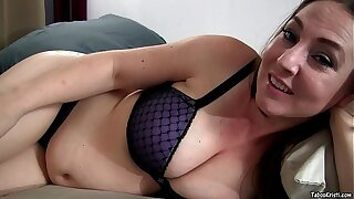 Pregnant Mommy Kristi Fucks Son and Cums on His Cock - Taboo MILF Kristi Fauxcest POV