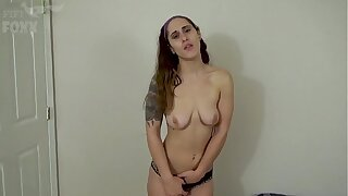 Sister Bets Brother She Can Get His Dick Hard, POV - Brother Creampies Sister - Siblings, Family Sex, Brunette - Akira Shell