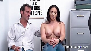 Latina MILF Got Caught Stealing- Sheena Ryder