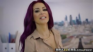 Brazzers - Big Tits at Work - Point of Sale scene starring Monique Alexander & Danny D