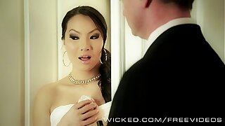 Asa Akira needs two dicks