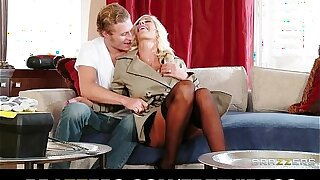Sexually bored Puma Swede cheats on her hubby with a younger man