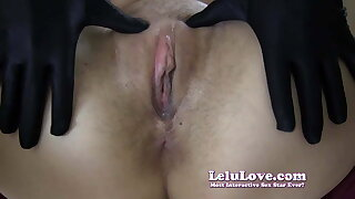 Lelu Love-Gloves Choker Boots Cheating Creampie (Pt. 2)