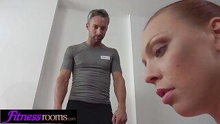 Fitness Rooms Morgan Rodriguez pov deepthroat and rough sex