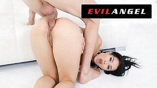 Katrina Jade's Tight Ass Slammed In Leather - EvilAngel