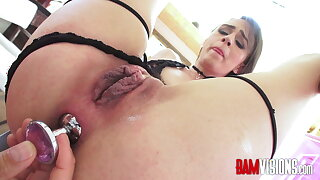 Bamvisions Hairy Pussy Alex More and Anal Toys