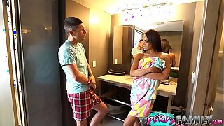Cheating Mom Almost Caught With Step Son (Part 1) - Gia Vendetti -