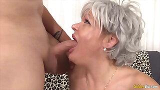 Golden Slut - Older Lady Blowjob Compilation Part 20