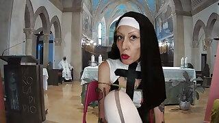 Sister Nun Miss Wagon Vegan - The mass of the fetishists